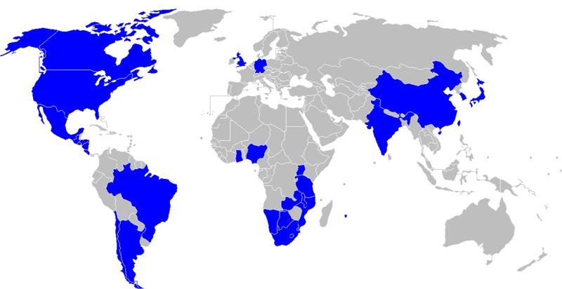 Walmart Overseas Locations