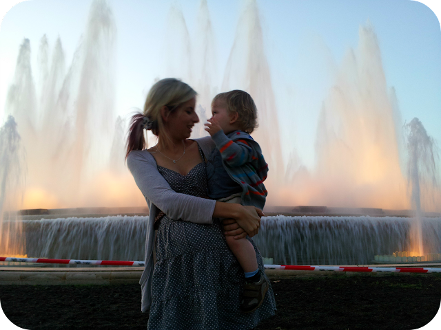 magic fountain, montjuic