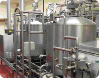 Small milk processing plant