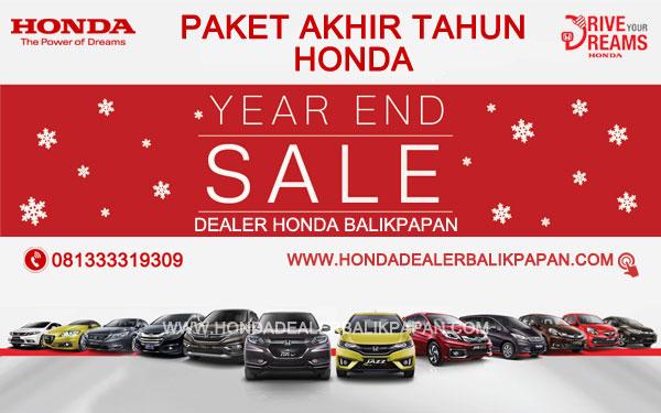 Promo Akhir Tahun Honda Balikpapan