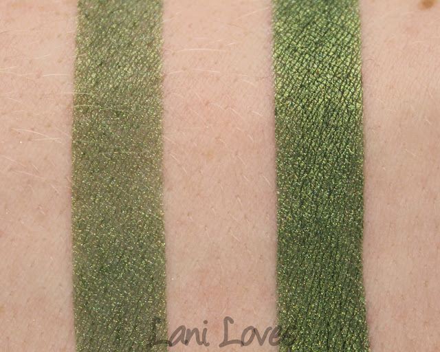 Fyrinnae - Forest Dragon Eyeshadow Swatches & Review