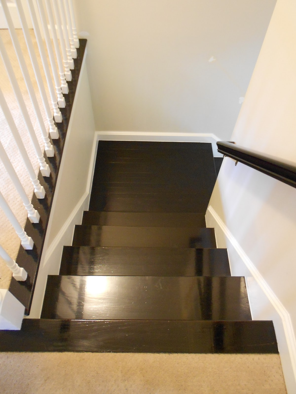 Stairs shine your light Unstained hardwood floors