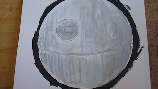 draw a death star