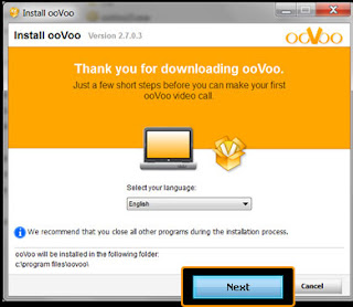 install Oovoo video software