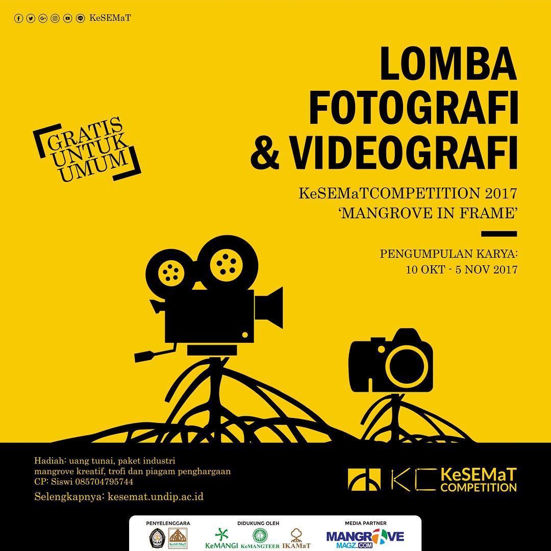 Lomba Fotografi & Videografi Gratis 2017