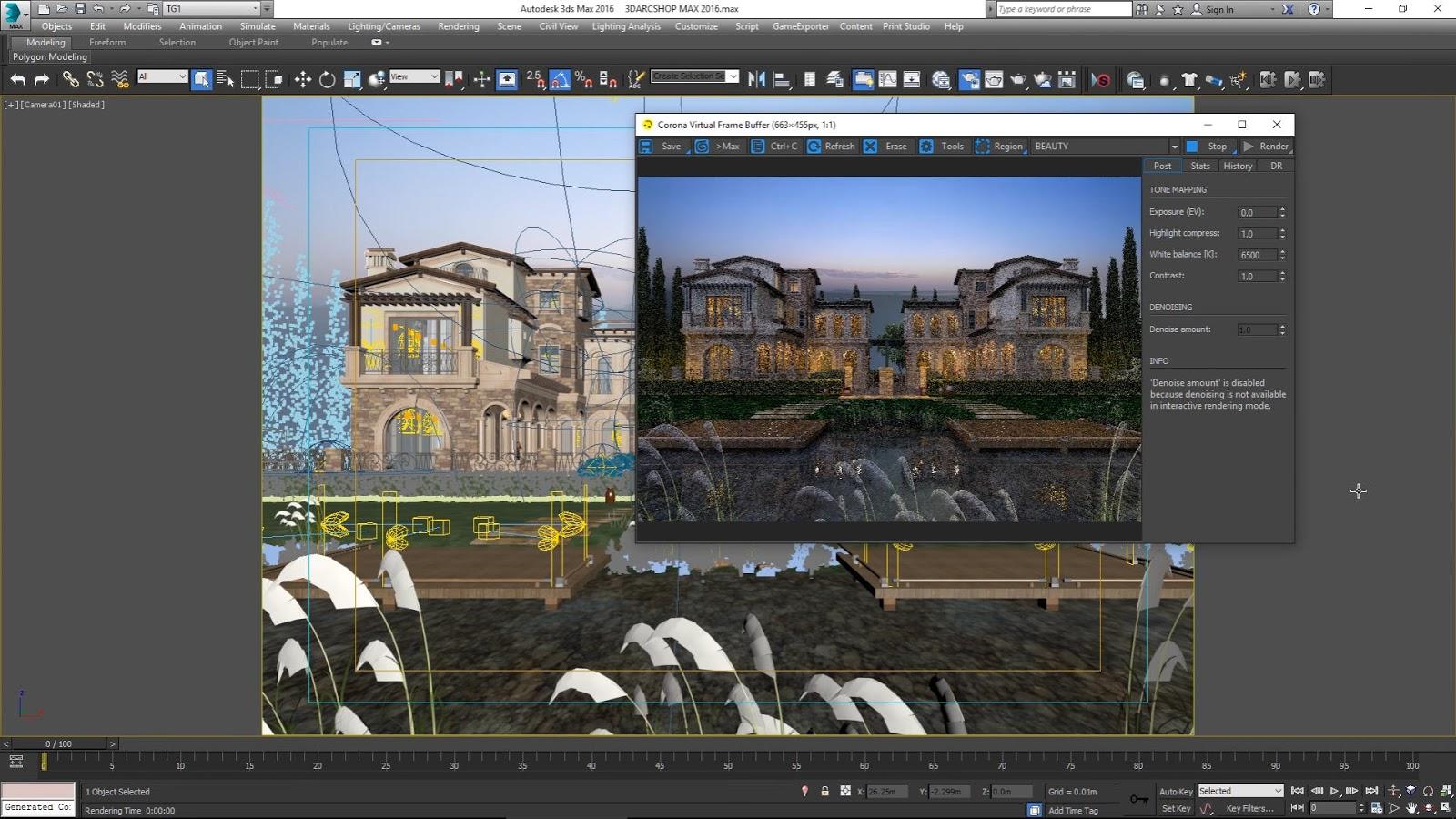 Corona Quick Tip: Converting VRay Scenes in 3ds Max | CG TUTORIAL