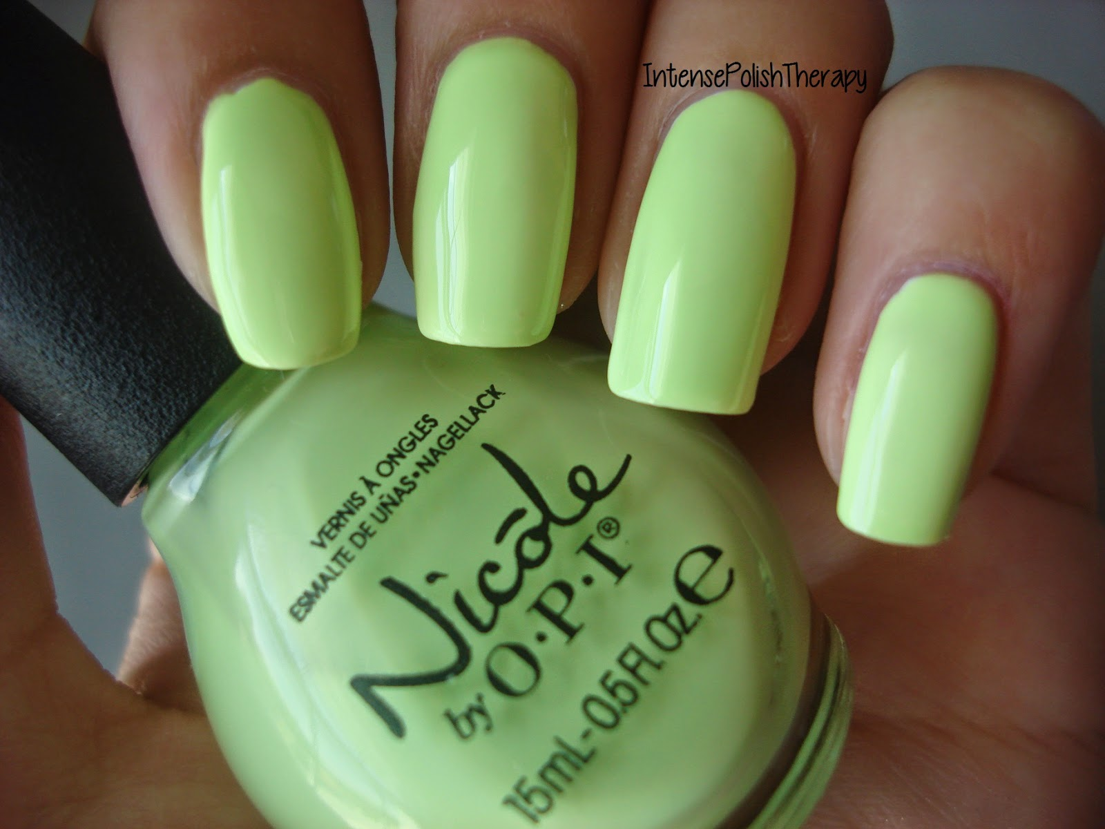 Nicole by OPI - Lay it on the Lime
