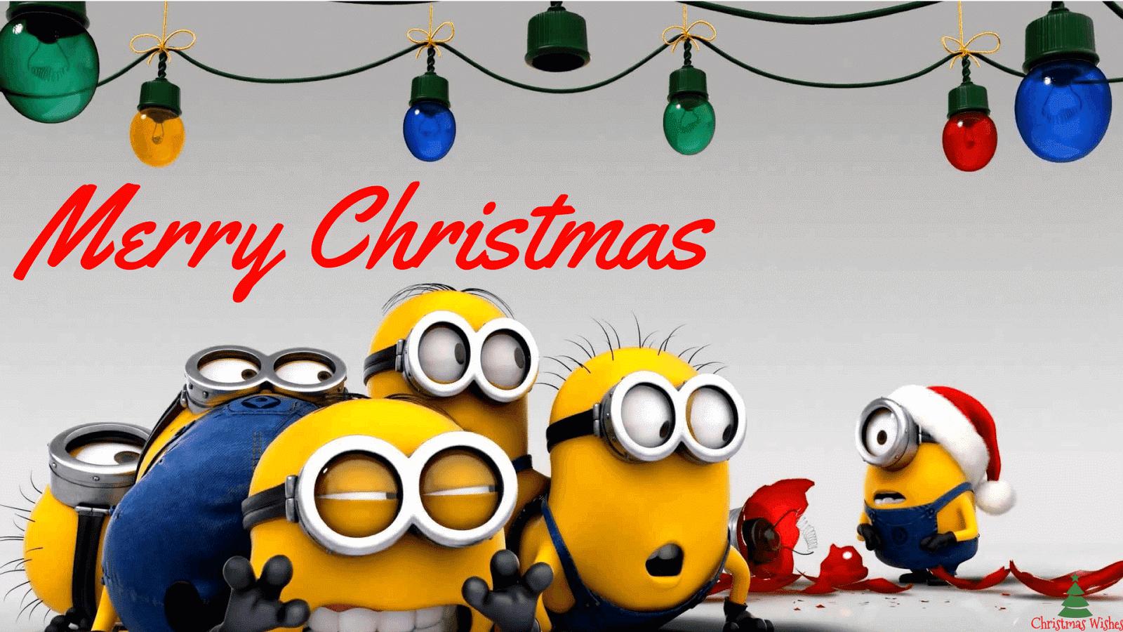 minions christmasminions christmas wallpaper merry christmas minions - Minions Christmas