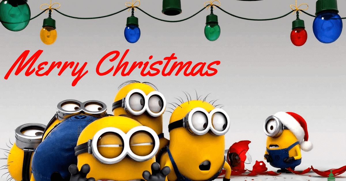 10 amazing minions merry christmas wallpapers will blow your mind 2019 frohes weihnachten und