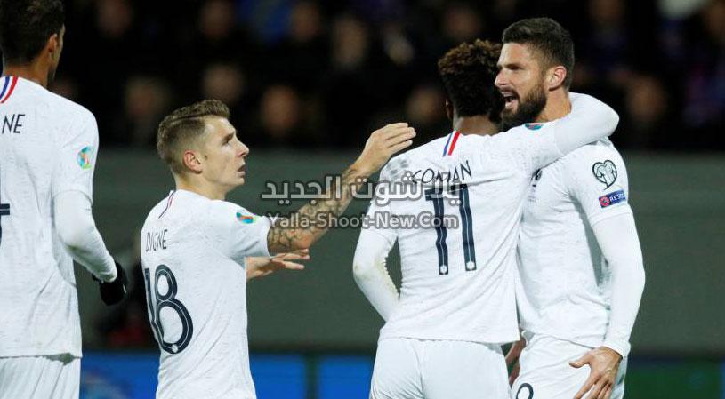 فوز صعب لمنتخب  فرنسا على أيسلندا بهدف وحيد بدون رد في التصفيات المؤهلة ليورو 2020
