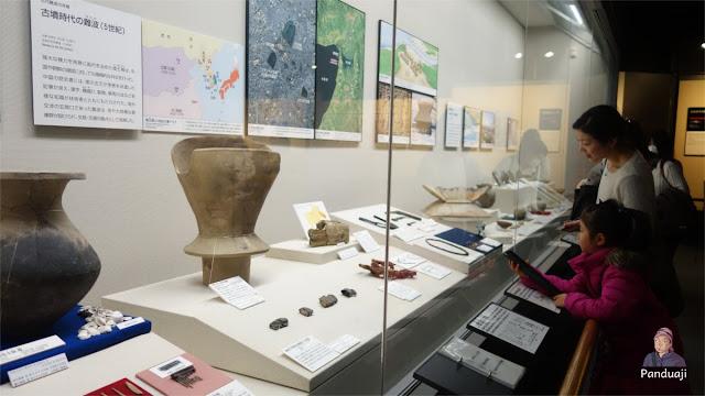 Pengunjung Osaka Museum History