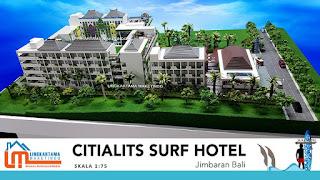 jasa-maket-kawasan-industri-citialits-surf-hotel