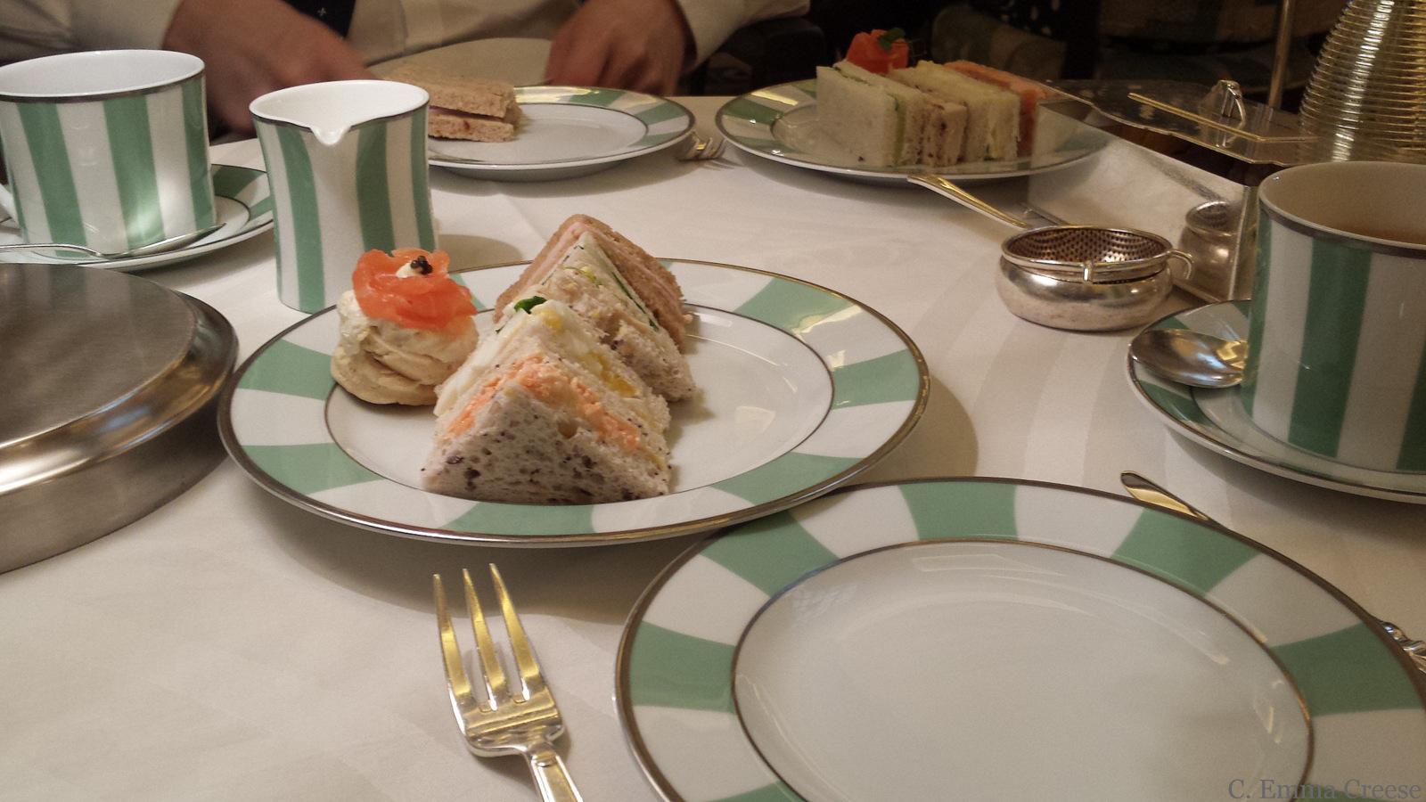 Claridges Afternoon Tea