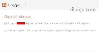 Blog Telah Dihapus