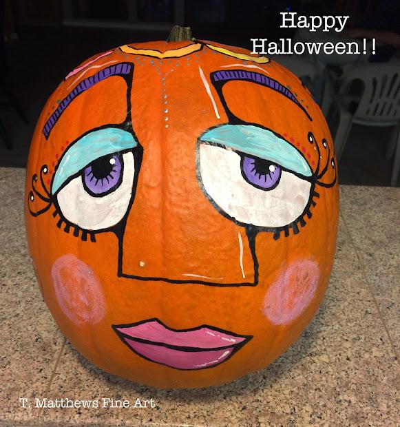 T. Matthews Fine Art Happy Halloween