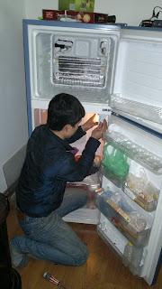 Sửa tủ lạnh ngăn mát đóng tuyết
