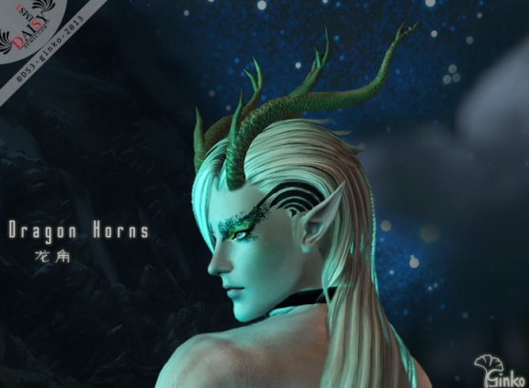 Simply Sims Dragon Horns By Ginko At Daisy Sims 3