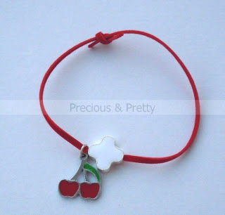 witness pins cherry bracelet