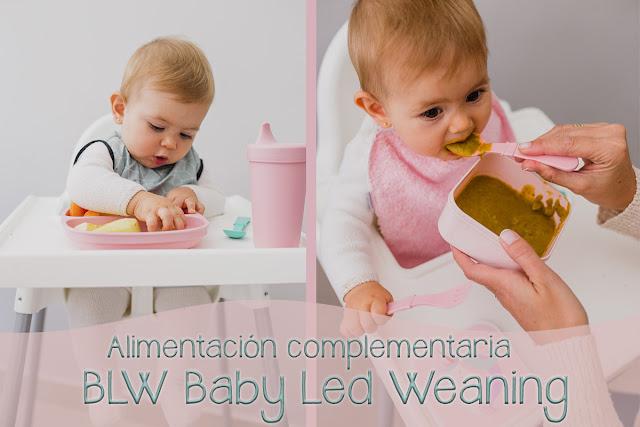 babero resinado o rizo para bebé anti calado antimancha alimentación complementaria método baby led weaning BLW mimuselina blog