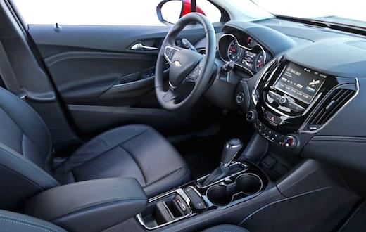 2019 Chevrolet Cruze Hatchback Specs