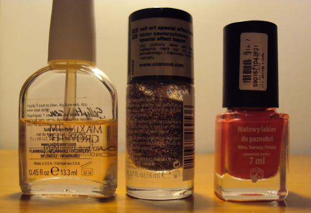 recenzja kosmetyków | testy kosmetyków | Sally Hansen