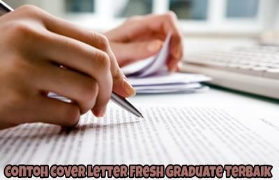 Contoh Cover Letter Fresh Graduate Terbaik