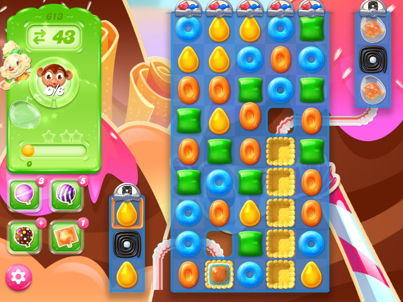 Candy Crush Jelly Saga level 613