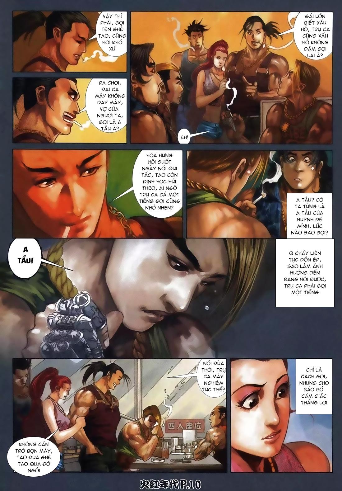 Hỏa Hồng Niên Đại Hắc Cốt Đường Chap 111 - Trang 6