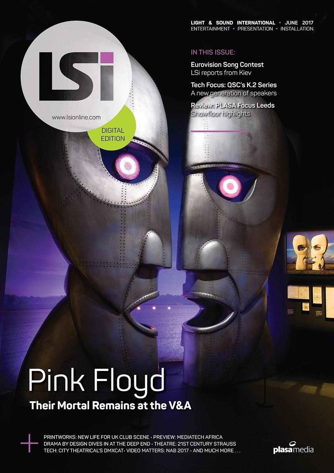 Pink Floyd Ilustrado Pink Floyd Light Sound