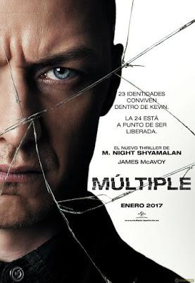multiple- poster de la película - España