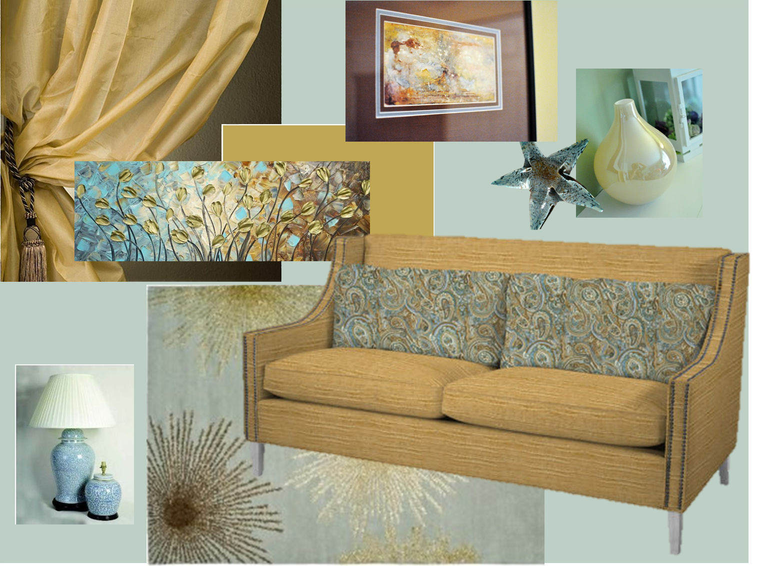 Gold Living Room Ideas Grey Blue Gold Living Room