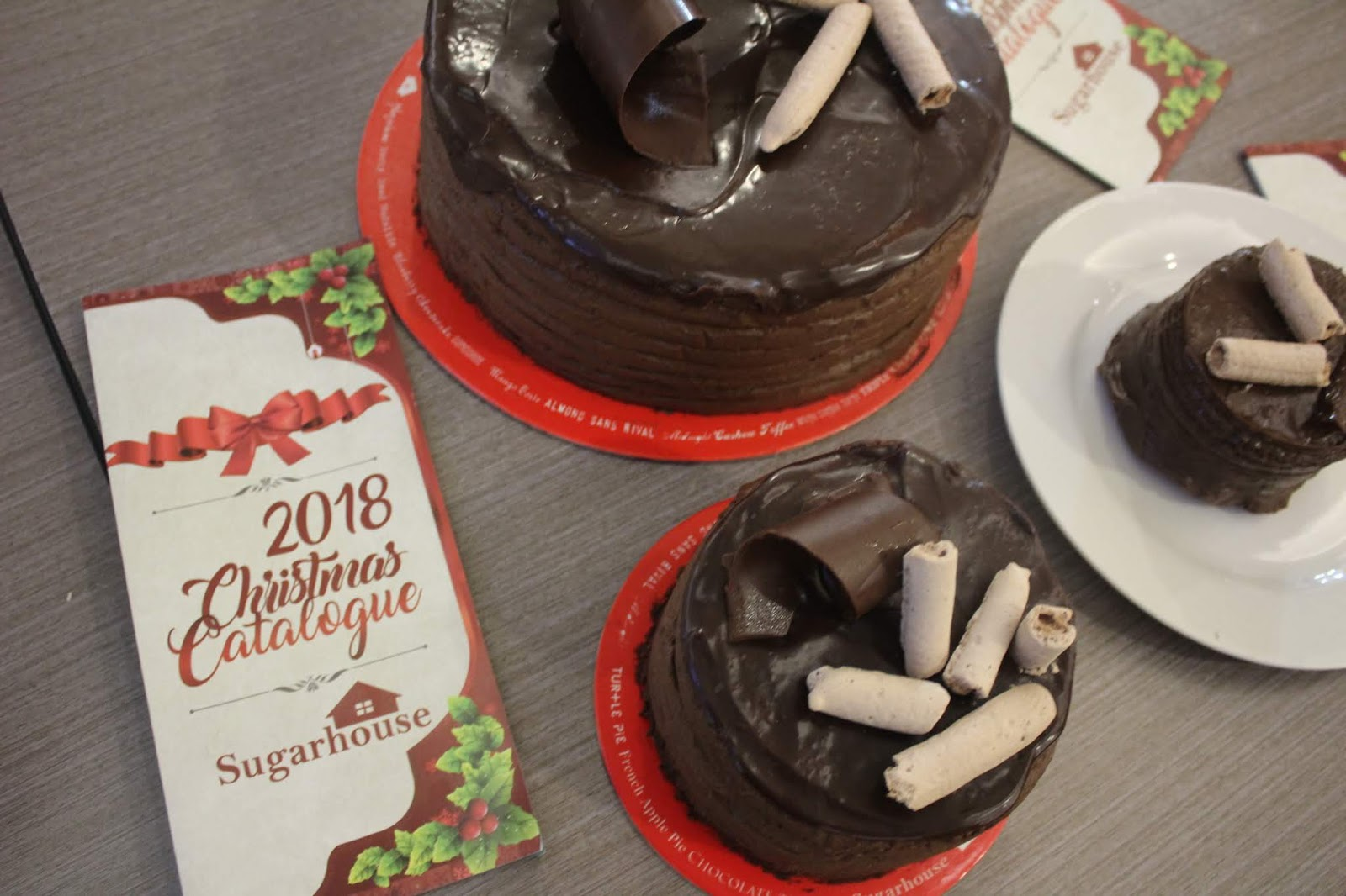 chocolate cakes in sugarhouse megamall