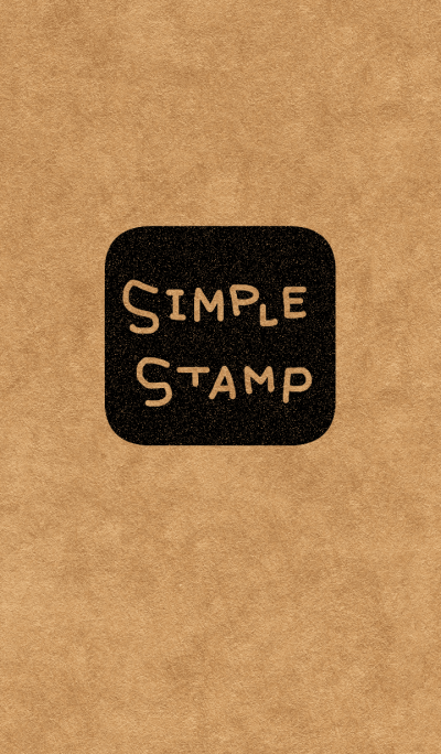 SIMPLE STAMP kraftpaper
