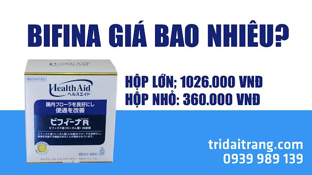 Nhà thuốc bán men tiêu hóa bifina quận Tân Phú HCM
