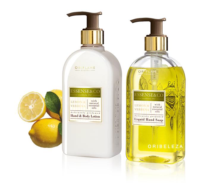 Essence & Co. da Oriflame: Limão & Verbena