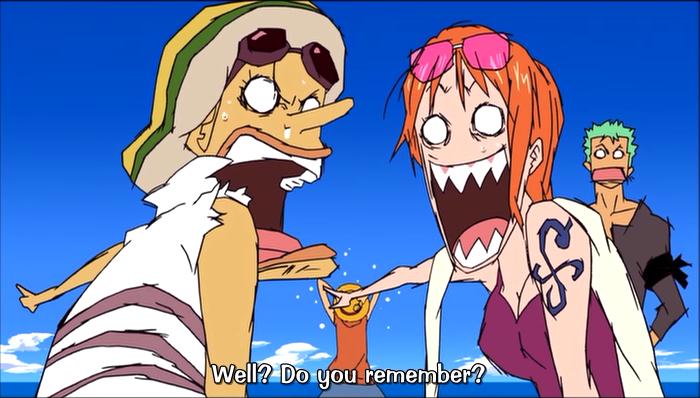 Aaron Long Cartoons - Blog: Mamoru Hosoda's One Piece Movie 6