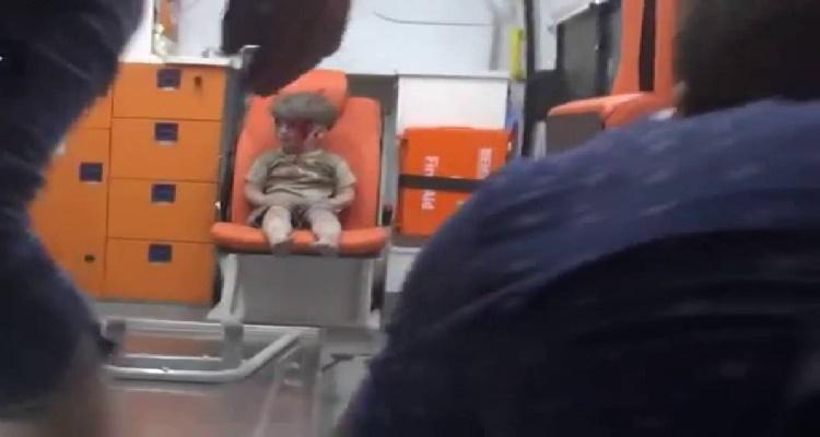 مصور الطفل السوري عمران يخرج عن صمته و يكشف مفاجأة صادمة