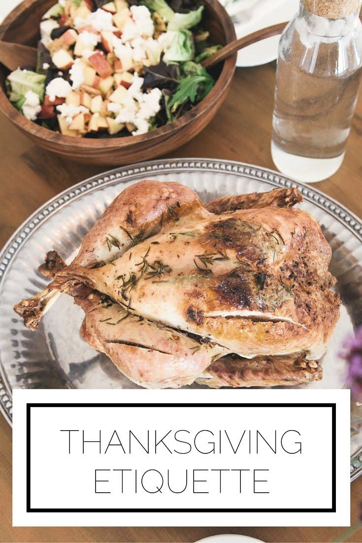 Thanksgiving Etiquette