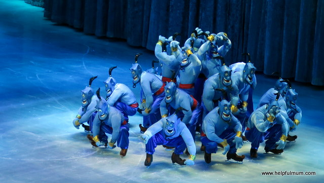 Genie Aladdin Disney on Ice