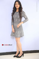 Actress Chandini Chowdary Pos in Short Dress at Howrah Bridge Movie Press Meet  0021.JPG