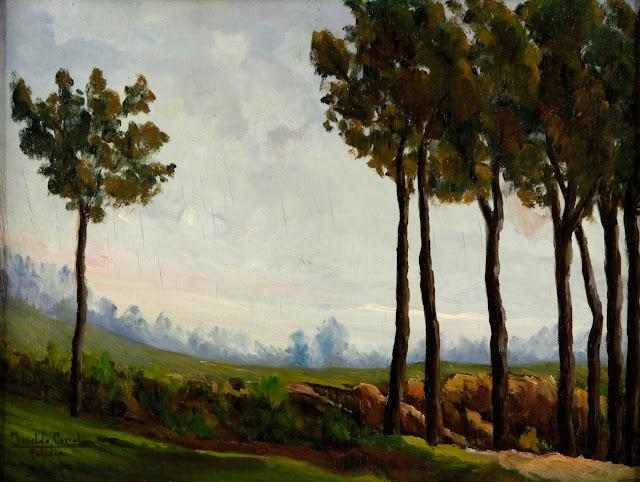 Imeldo Corral González, Paisajistas españoles del siglo XX y XIX, Pintores españoles,  Alberto Bescós Corral