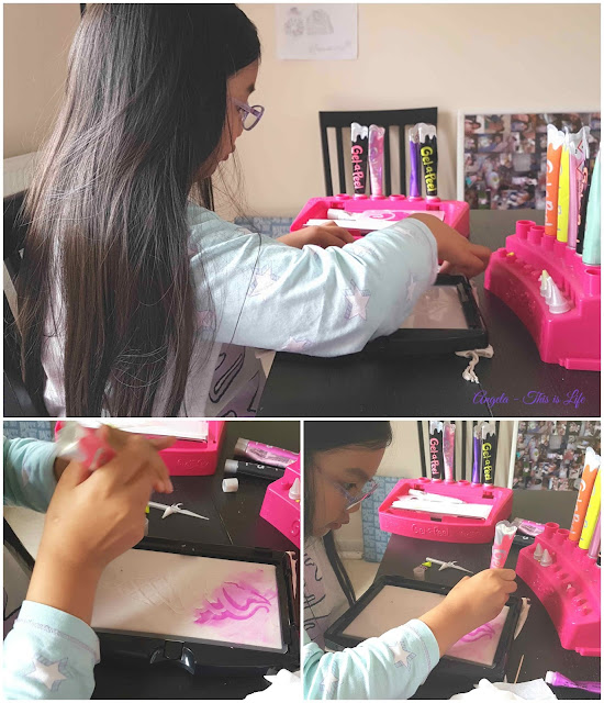 Gel-a-Peel Fashion Station, Children fashion crafting toy, Christmas Gift Idea for budding fashion designers