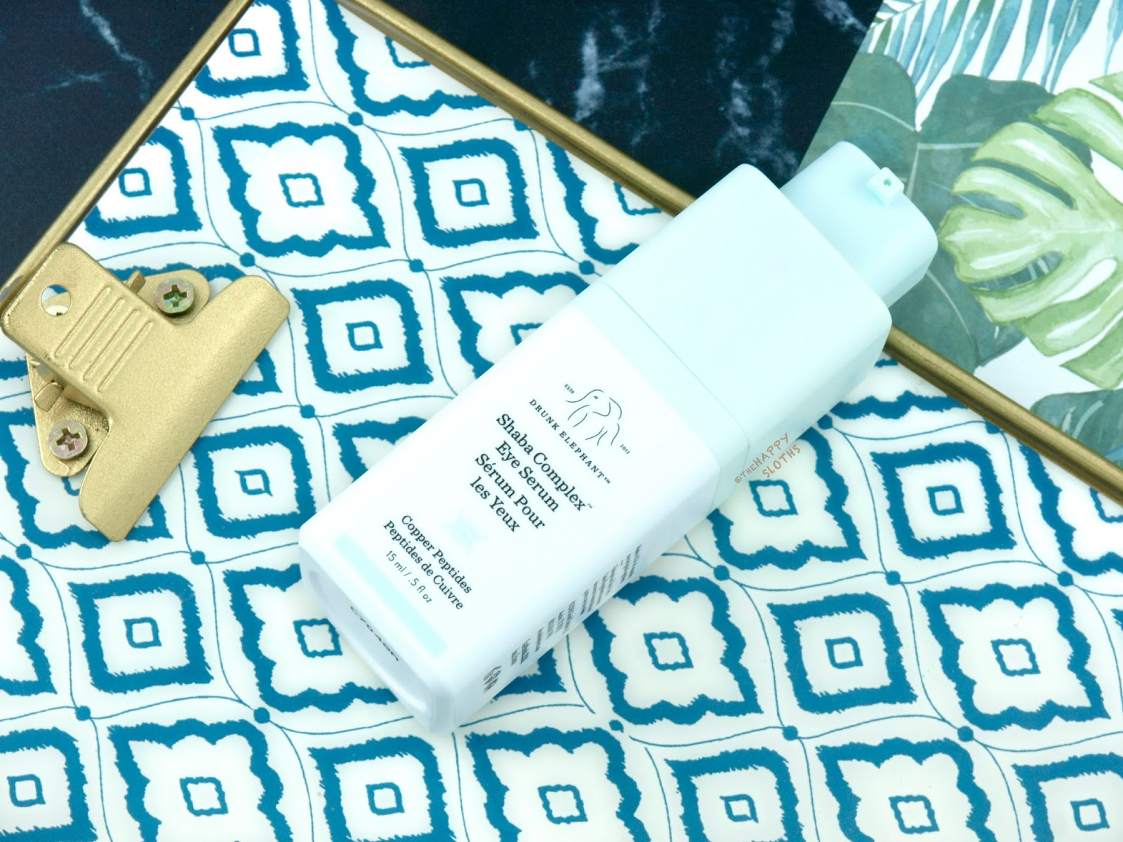 Drunk Elephant | Shaba Complex Eye Serum: Review
