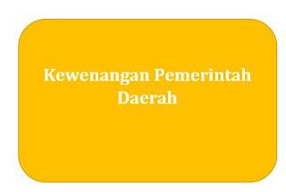 Kewenangan Pemerintah Daerah