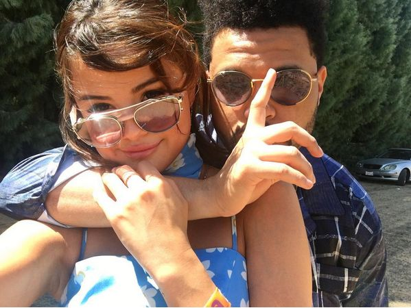 photo of Gomez and the weeknd