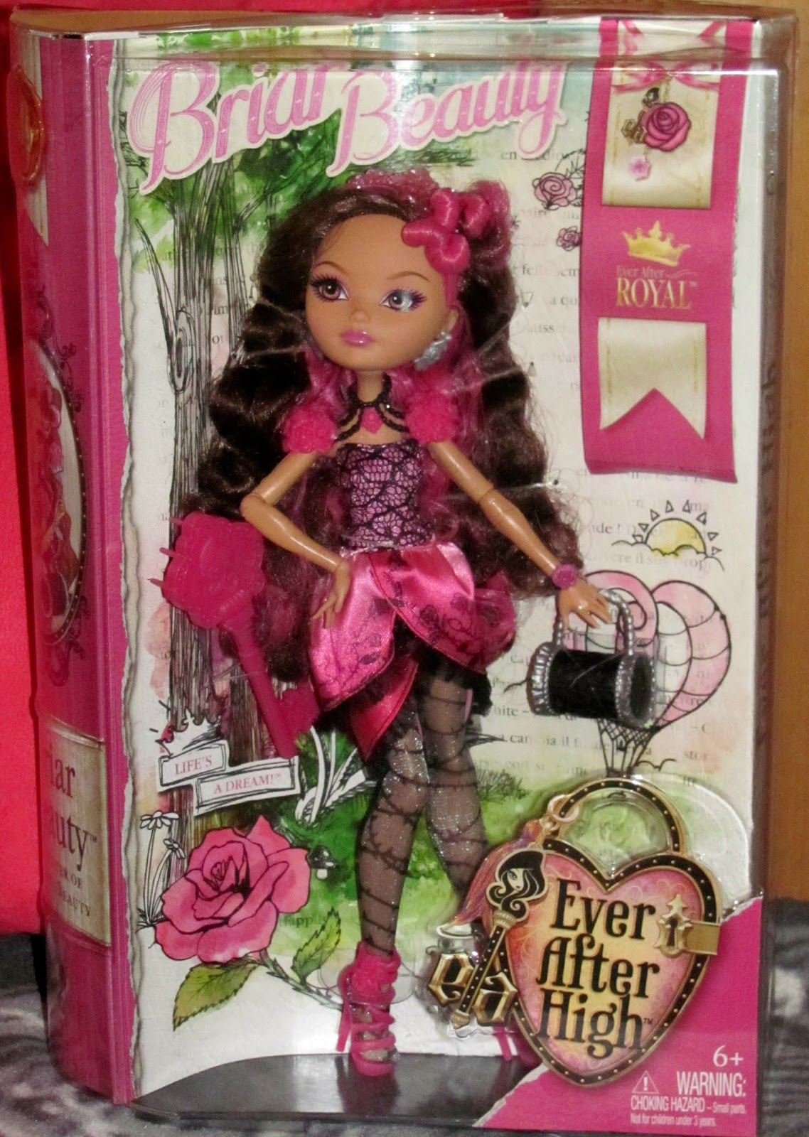 Dolls Within Pictures: Ever After High Briar Beauty Review
