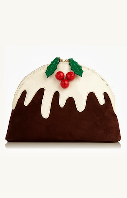 Christmas Cake Clutch bag