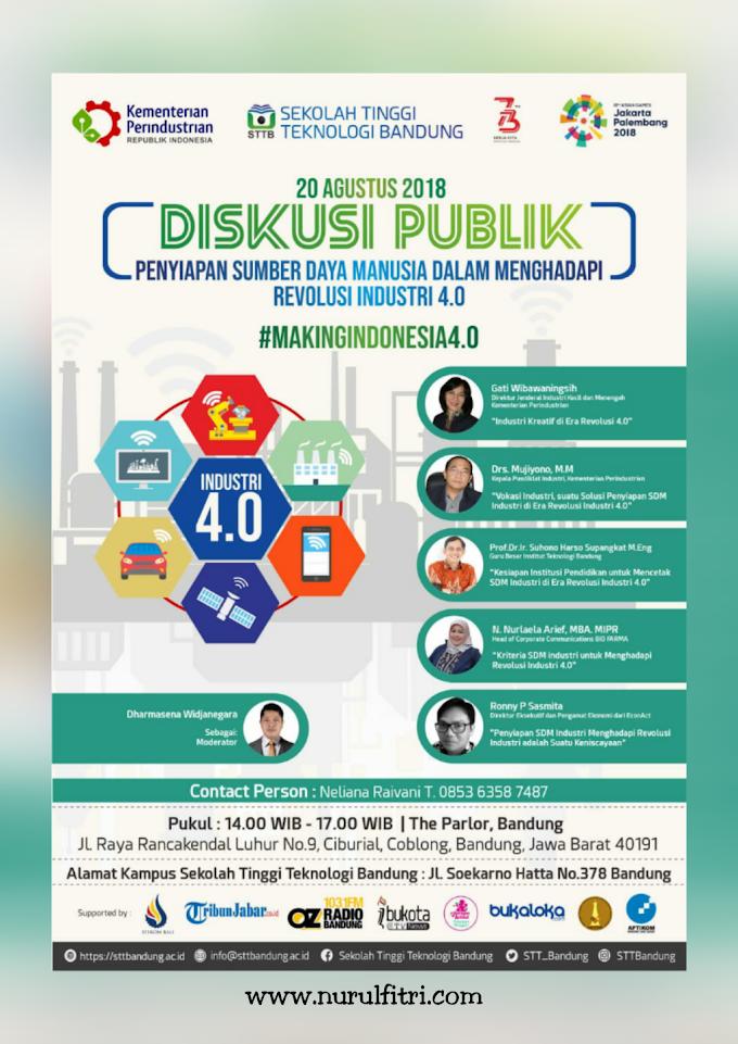 Penyiapan SDM di Indonesia Menghadapi Revolusi Industri 4.0