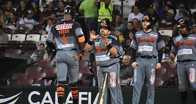 Naranjeros venció 5-3 a los Tomateros de Culiacán