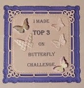Butterfly Challenge - October 2014 and November 2014